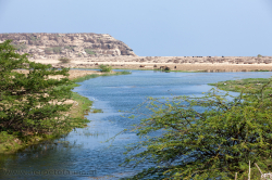 There are only few permanent fresh water sources in Dhofar - es gibt nur wenige permanente Süßwassergewässer im Dhofar